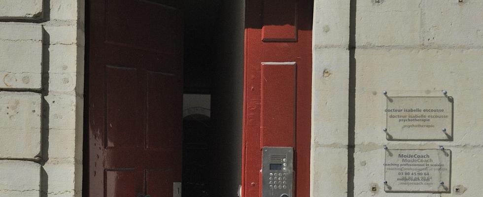 Entrée 40 rue Berbisey à Dijon